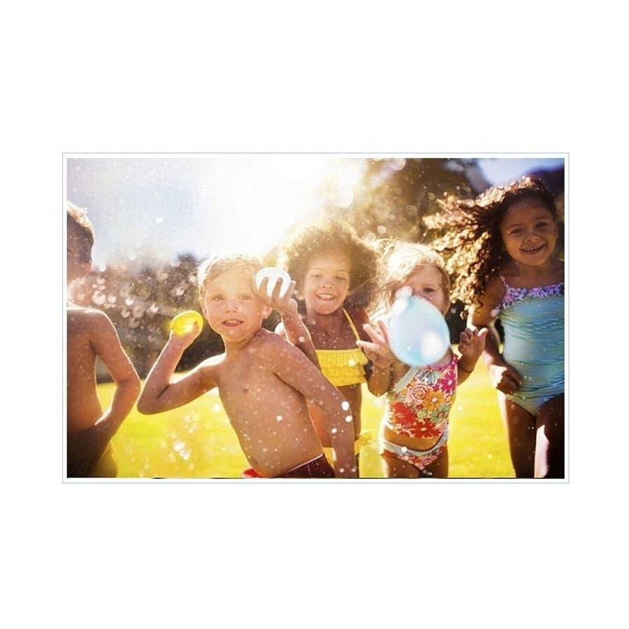 水風船 一気に作れる 大量 1110個 夏 祭り 水遊び 学園祭 バズーカ セット カラフル マジックバルーン 水爆弾 遊び おもちゃイベント 水 爆弾 業務用 ヨーヨー 6