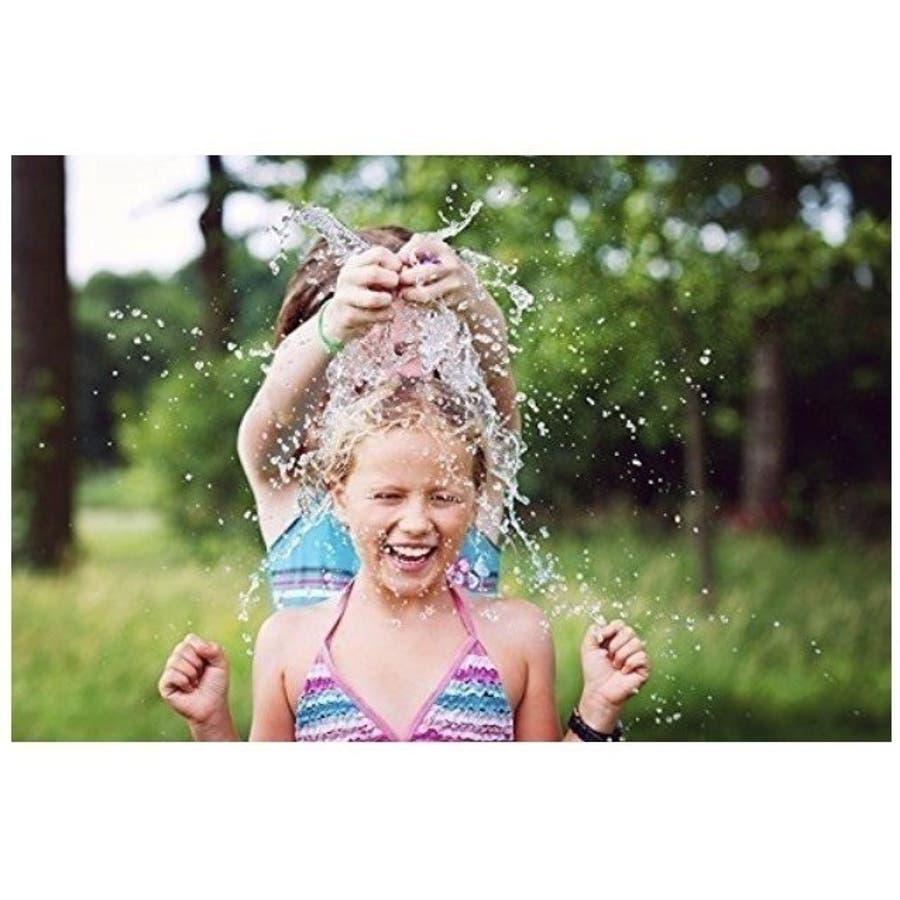 水風船 一気に作れる 大量 1110個 夏 祭り 水遊び 学園祭 バズーカ セット カラフル マジックバルーン 水爆弾 遊び おもちゃイベント 水 爆弾 業務用 ヨーヨー 7