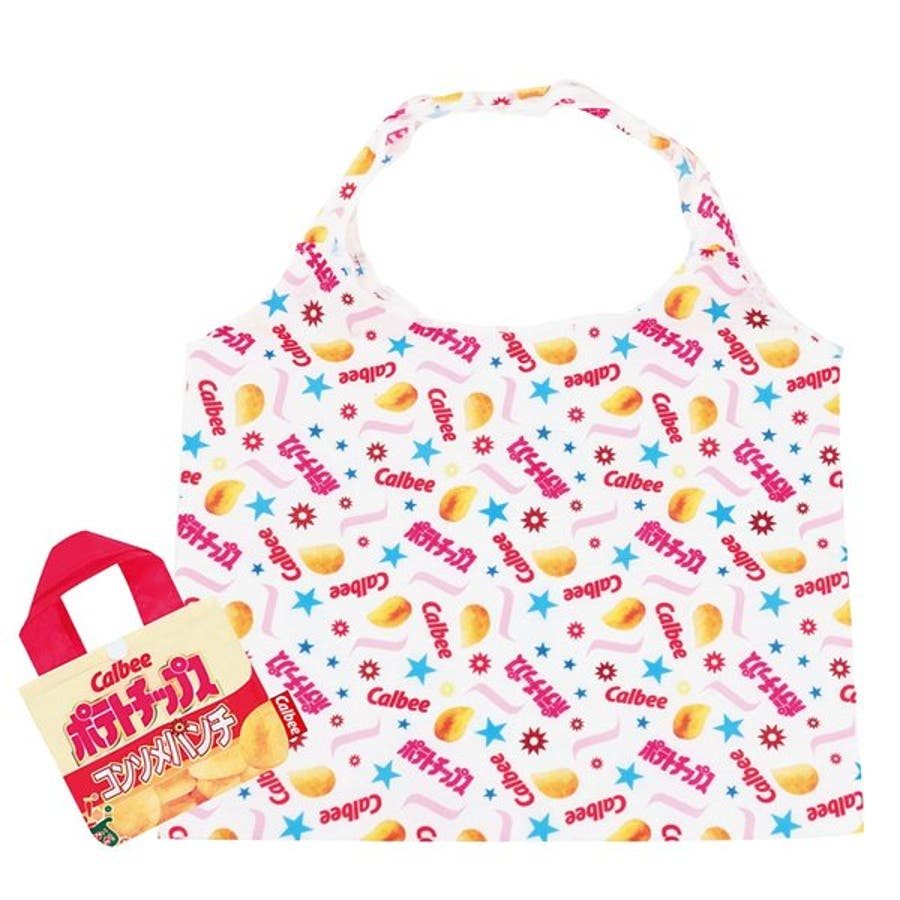 エコバッグ お菓子パッケージ シリーズ 可愛い 買い物バッグ 収納バッグ付 グッズ レディース ミニバッグ 折り畳み おしゃれブランド お出かけ 旅行 レジャー 9
