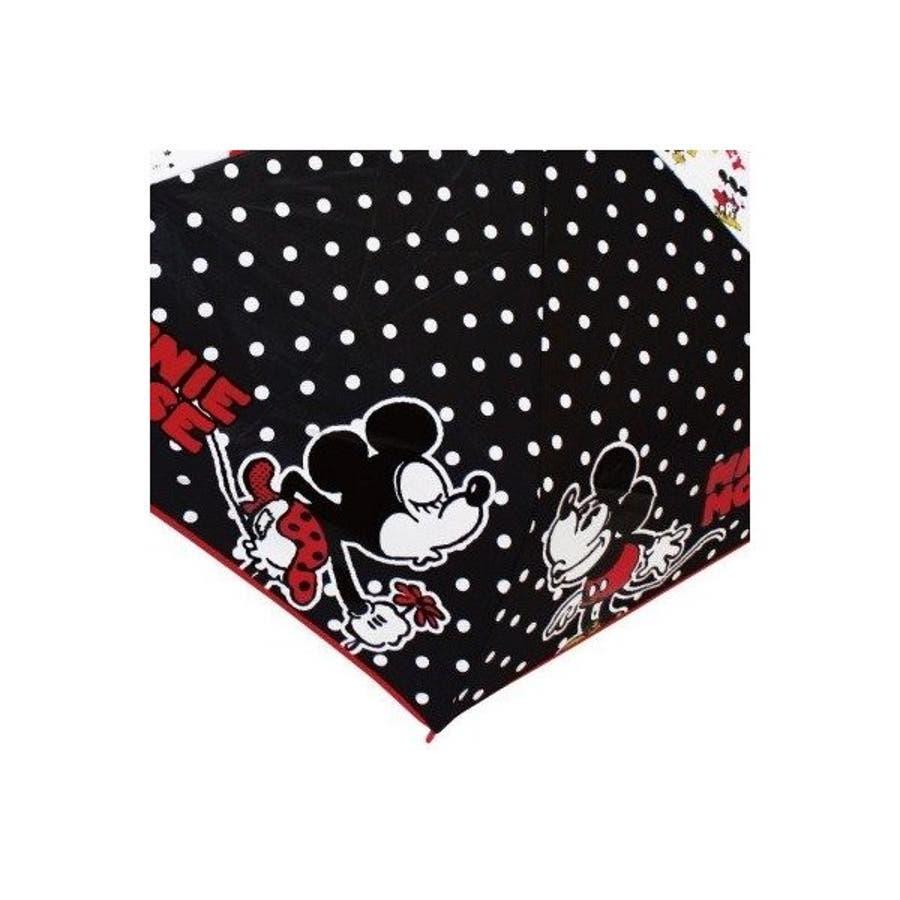 ミッキー&ミニー ディズニー 折り畳み傘 グッズ KISS キャラクター 新商品 子ども 男の子 女の子 カサ かさプレゼント かわいい クリスマス ギフト 4