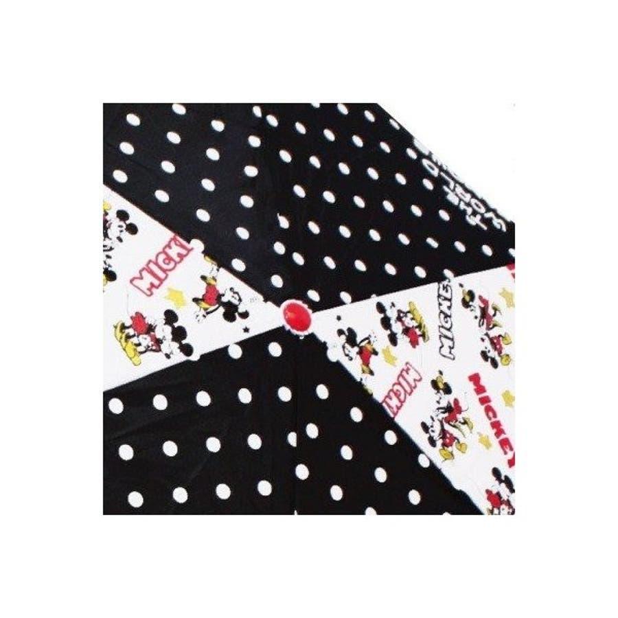 ミッキー&ミニー ディズニー 折り畳み傘 グッズ KISS キャラクター 新商品 子ども 男の子 女の子 カサ かさプレゼント かわいい クリスマス ギフト 5