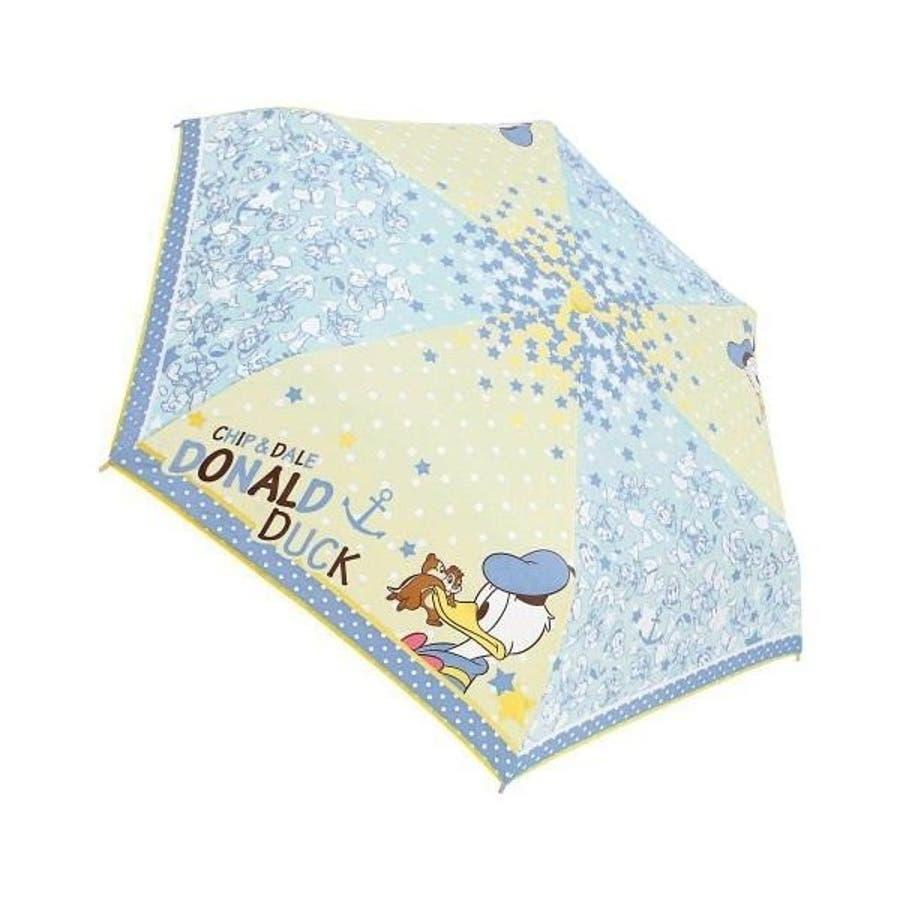 ドナルド&チップ&デール ディズニー 折り畳み傘 グッズ 折りたたみ傘 新商品 子ども 男の子 女の子 カサ かさプレゼント かわいい 雑貨 雨 4