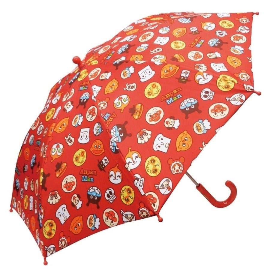 アンパンマン 傘 バンダイ レッド イエロー ブルー 40cm 子供用 アンブレラ かさ 手開き傘 合羽 かっぱ 雨合羽 雨具 保育園おもちゃ 2