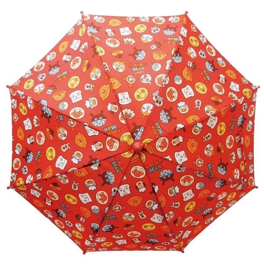 アンパンマン 傘 バンダイ レッド イエロー ブルー 40cm 子供用 アンブレラ かさ 手開き傘 合羽 かっぱ 雨合羽 雨具 保育園おもちゃ 4
