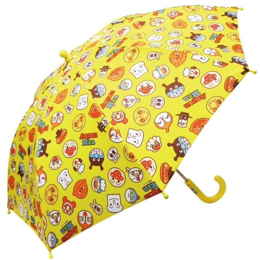 アンパンマン 傘 バンダイ レッド イエロー ブルー 40cm 子供用 アンブレラ かさ 手開き傘 合羽 かっぱ 雨合羽 雨具 保育園おもちゃ 5
