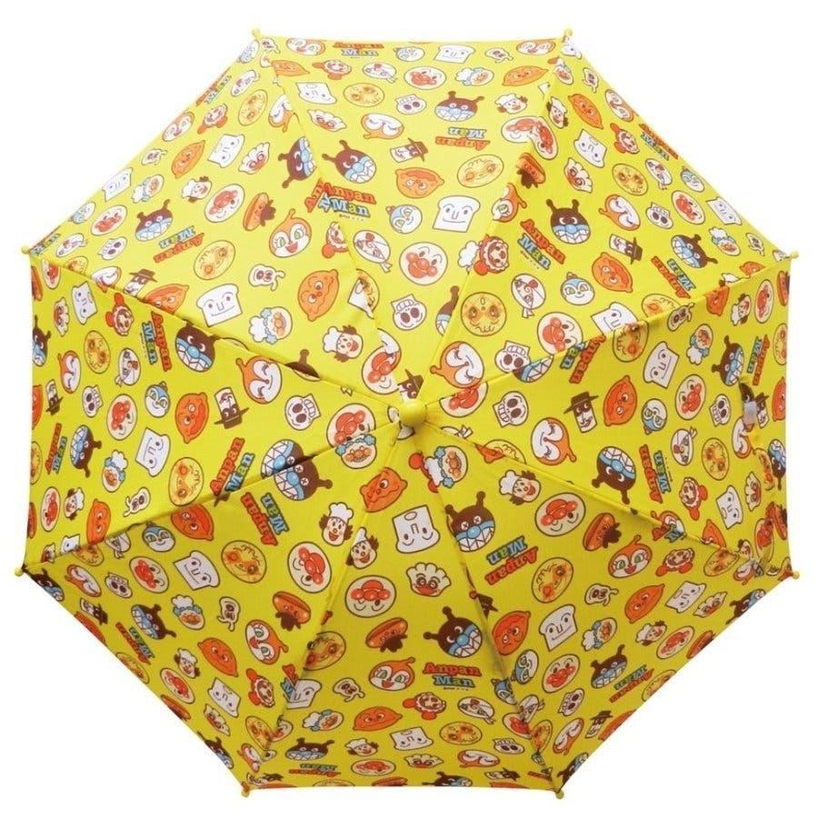 アンパンマン 傘 バンダイ レッド イエロー ブルー 40cm 子供用 アンブレラ かさ 手開き傘 合羽 かっぱ 雨合羽 雨具 保育園おもちゃ 7