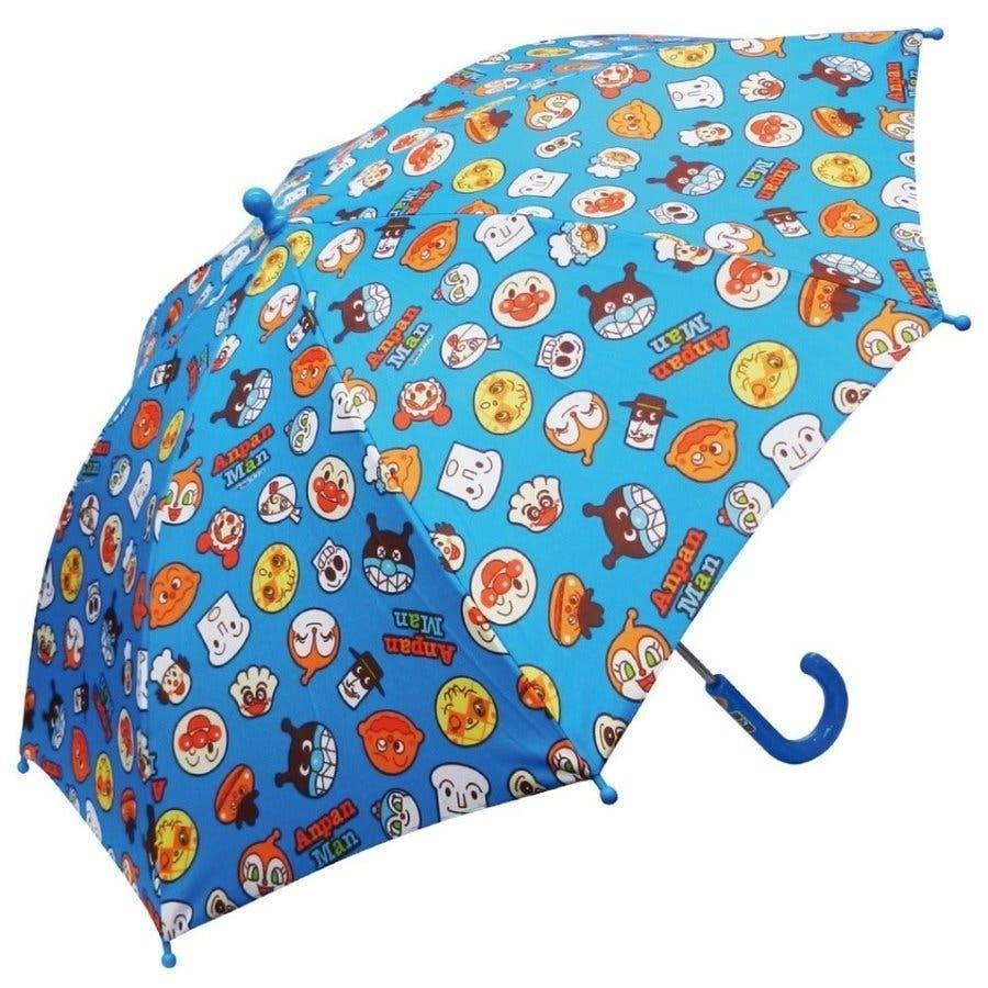 アンパンマン 傘 バンダイ レッド イエロー ブルー 40cm 子供用 アンブレラ かさ 手開き傘 合羽 かっぱ 雨合羽 雨具 保育園おもちゃ 8