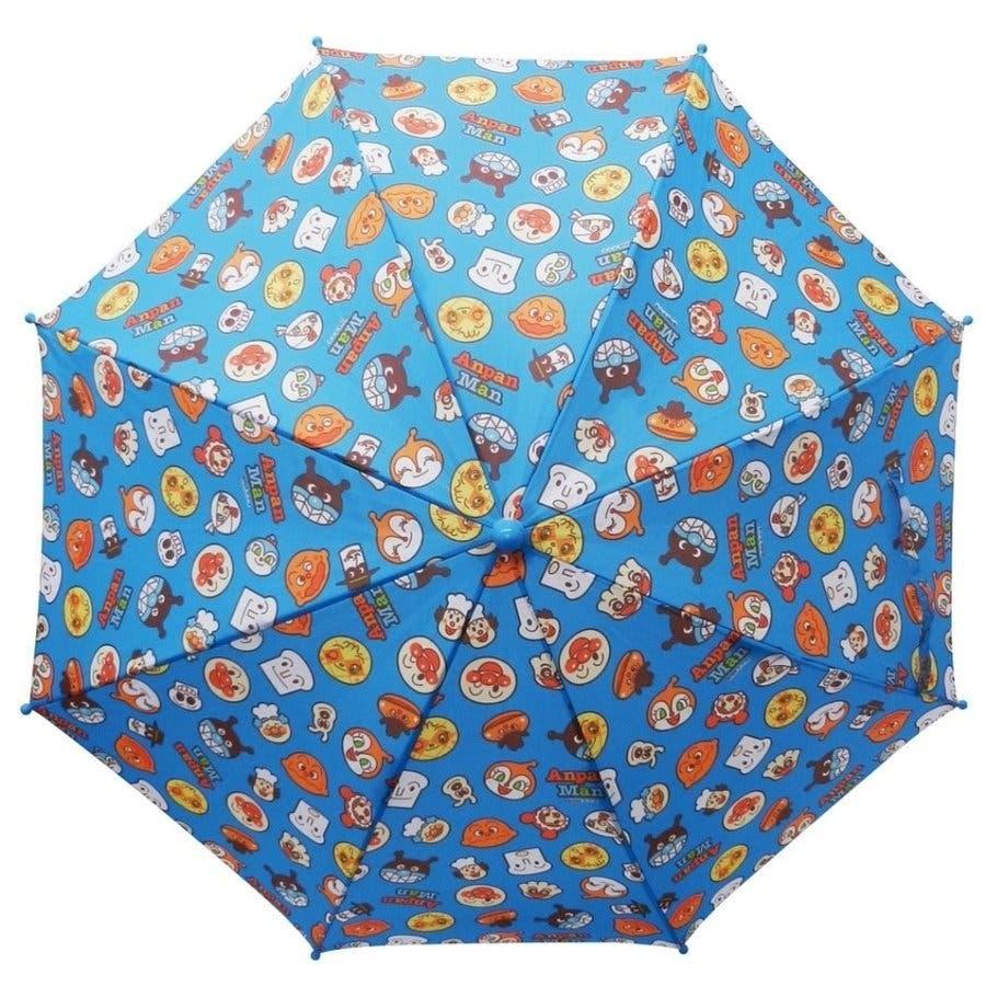 アンパンマン 傘 バンダイ レッド イエロー ブルー 40cm 子供用 アンブレラ かさ 手開き傘 合羽 かっぱ 雨合羽 雨具 保育園おもちゃ 10