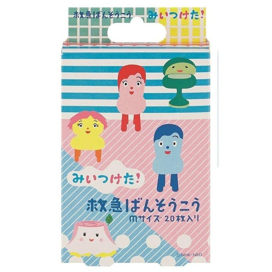 みいつけた グッズ 絆創膏 20枚入 バンソウコウ Mサイズ 緊急ばんそうこう 子供 雑貨 日本製 バンドエイド キャラクターおもしろ 衛生 2