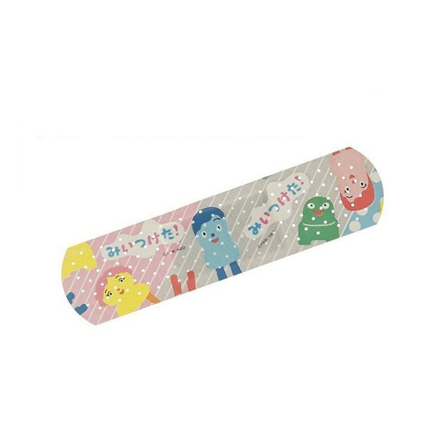 みいつけた グッズ 絆創膏 20枚入 バンソウコウ Mサイズ 緊急ばんそうこう 子供 雑貨 日本製 バンドエイド キャラクターおもしろ 衛生 3
