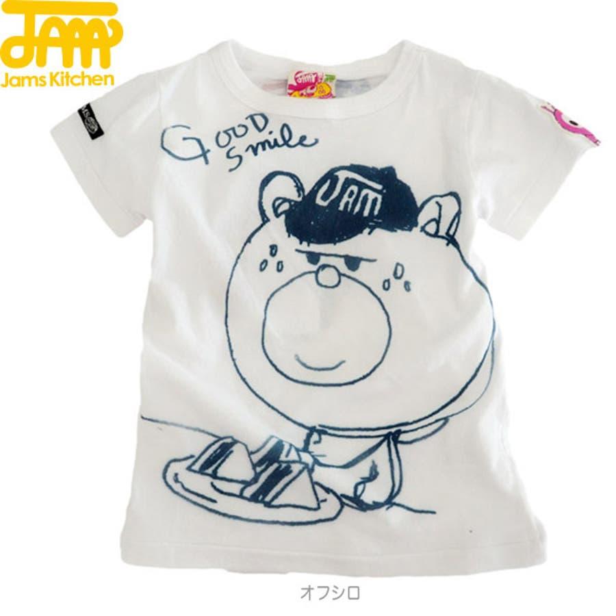 いい!おすすめ!旬のファッション JAM◇スマートクマテンTシャツ 子供80-140cm 罵言