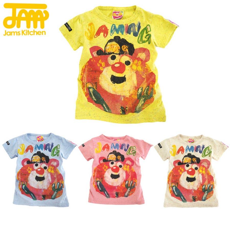 洗練デザインが魅力 JAM◇キリエテンチョーTシャツ 子供80-140cm 類似