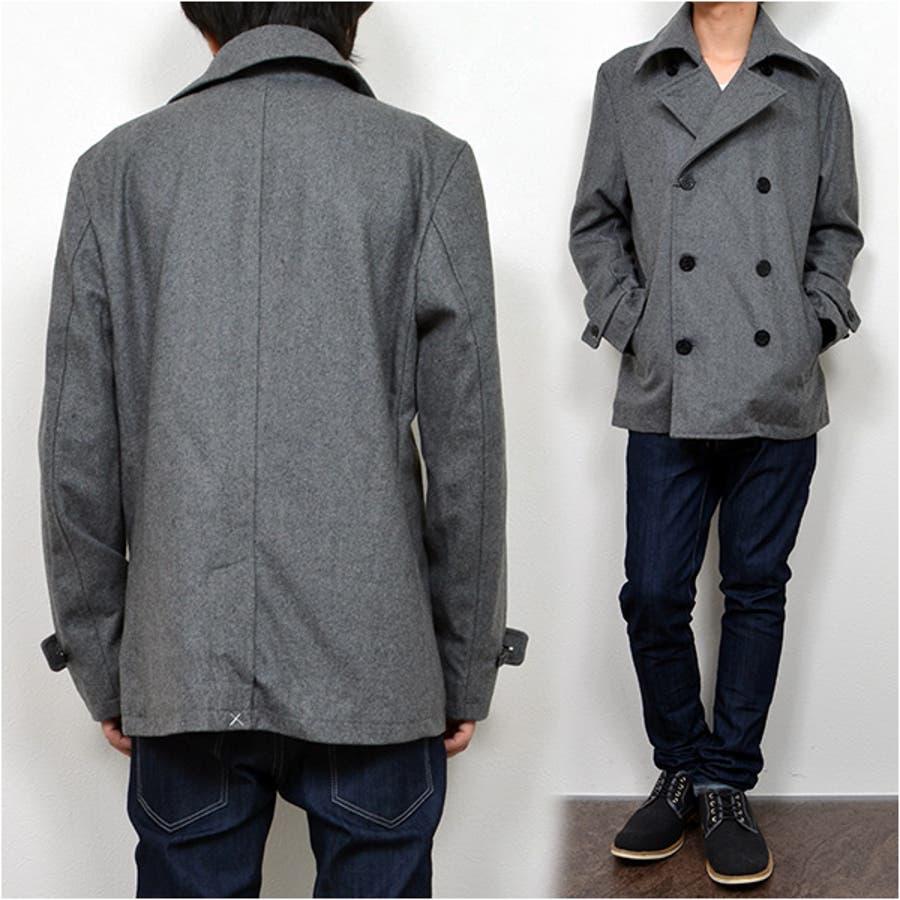 Pコート ピーコート ウールメルトン メンズファッション 秋冬 5