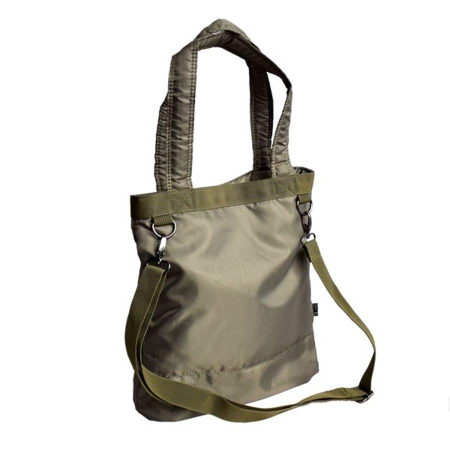 トートバッグ ミニショルダー 2way ミリタリー 刺繍 アメカジ バッグ 鞄 小物 メンズ カーキ ブラック カモフラ 春先行 8