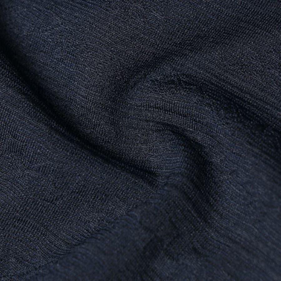 Tシャツ カットソー 半袖 Vネック 半袖Tシャツ オルテガ柄 ジャガード トップス ブラック ネイビー ホワイト 夏先行 6