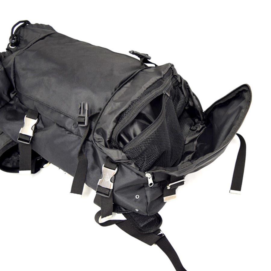 バッグ バックパック デイパック リュックサック 大容量 メンズ ブラック カーキ ネイビー 秋冬 10