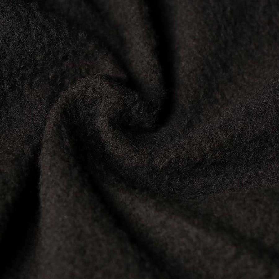 パンツ ウィンドブレーカー 防風 裏フリース 撥水 切替 カジュアルパンツ ロング 12分丈 無地 ボトムス メンズ ベージュブラック チャコール カーキ 5