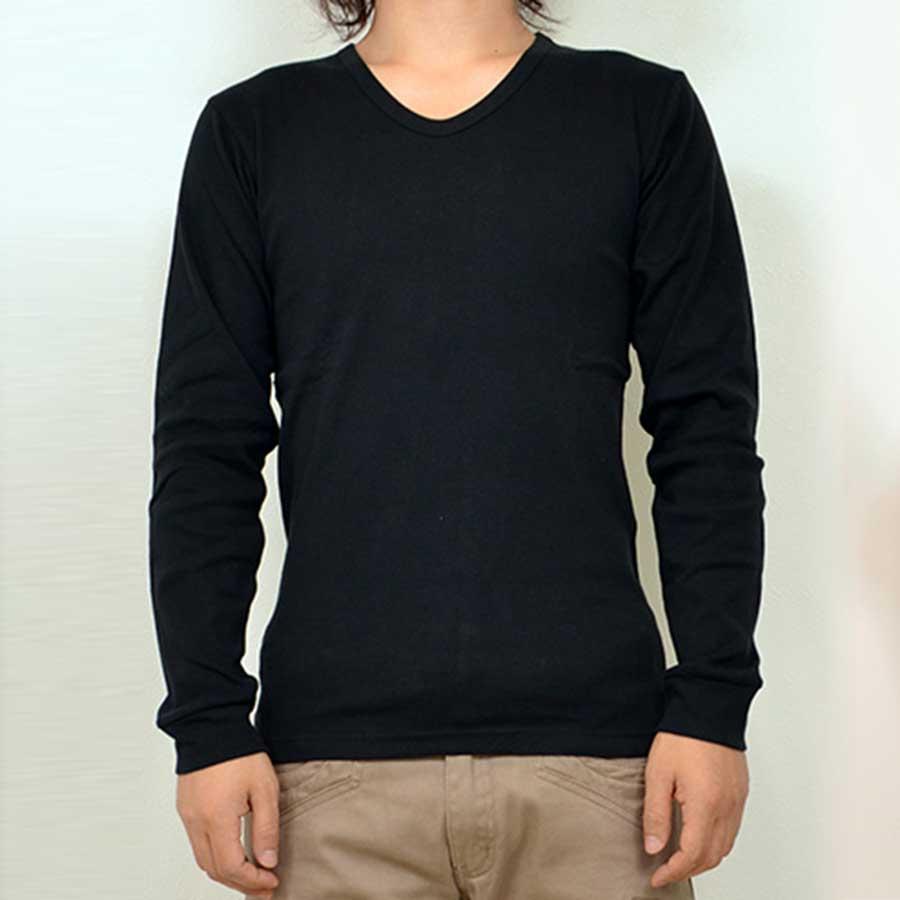 サイズもぴったりでよかったです! 無地フライスUネックロンTロングTシャツカットソー Tシャツ 無地 メンズファッション メンズ ロング tシャツ トップス 秋冬 激甚