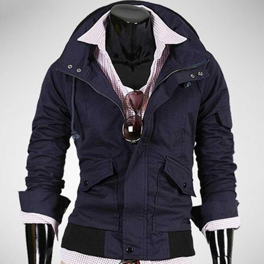 大人っぽく見せることができて良かった ジャケット ミリタリージャケット パーカー パーカ フード付き メンズファッション メンズ 秋冬 空撮