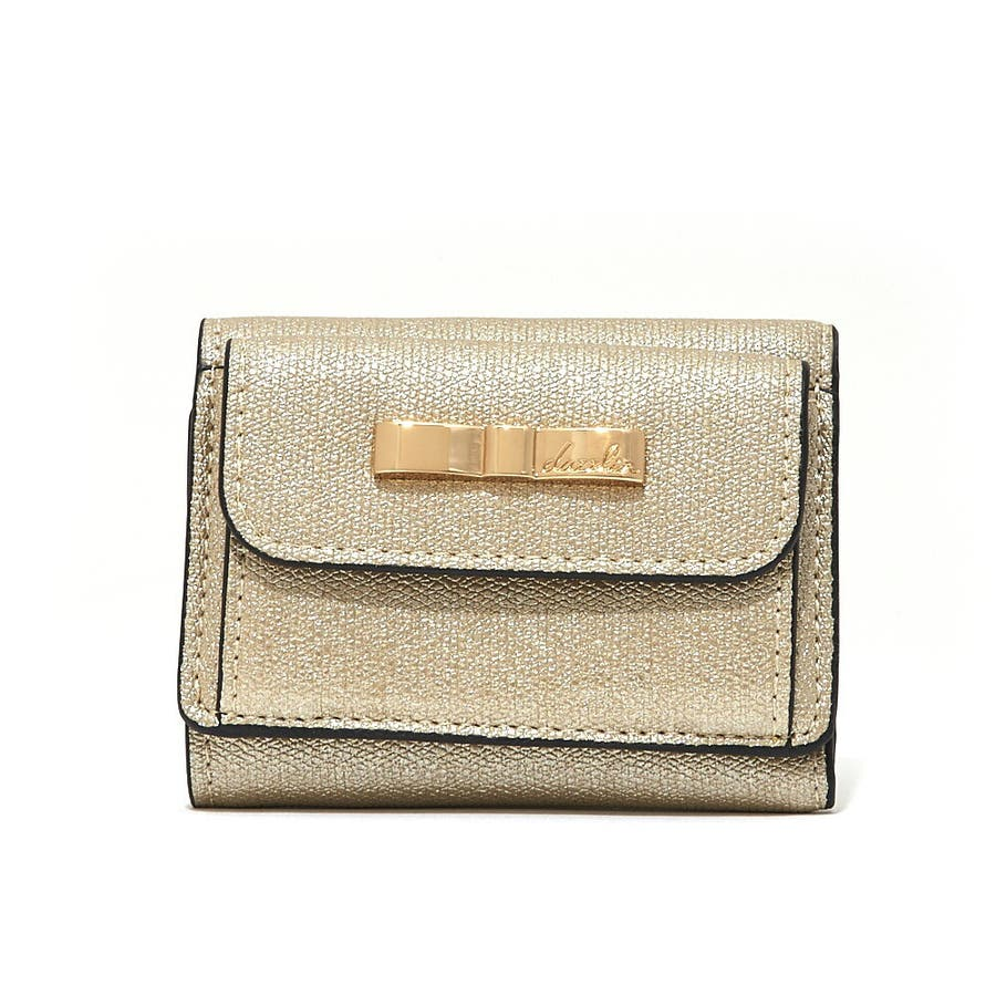 baef5f41197b dazzlin ダズリンラメミニ財布三つ折りサイフ 財布DLS-1328[品番 ...