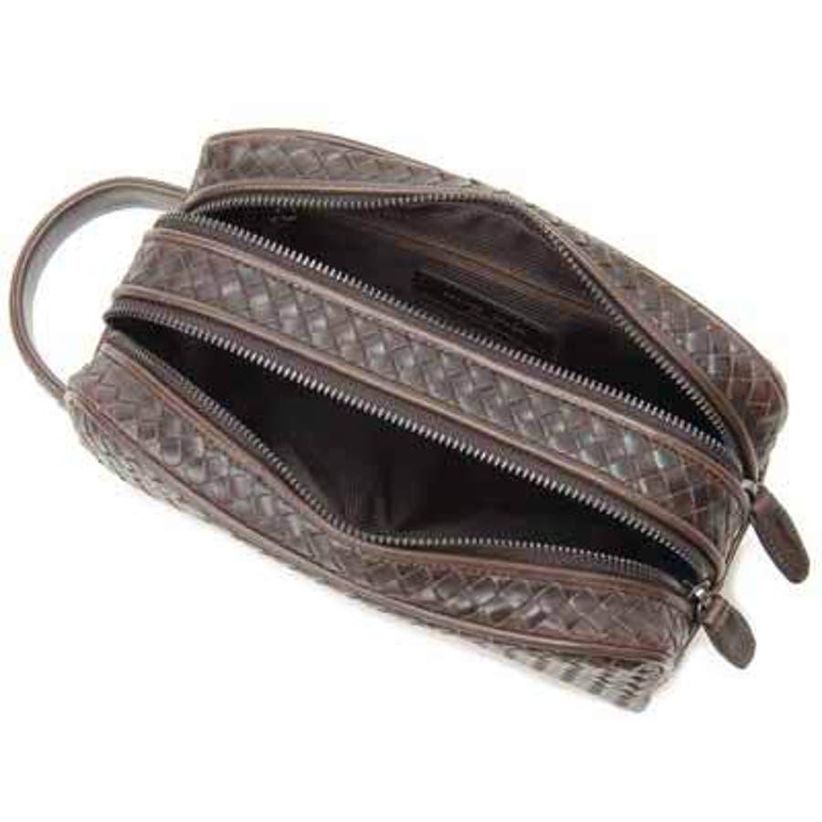 モンテスピガ monte SPIGA メンズ セカンドバッグ メンズ バッグ ブラウン MOSL1747DSBR メッシュ 鞄DEAL 3