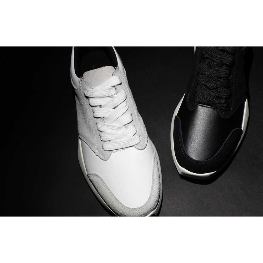 endevice , エンデヴァイス , ローカット 本革 スニーカー メンズ 革靴 黒 ブラック 白 ホワイトキレイ