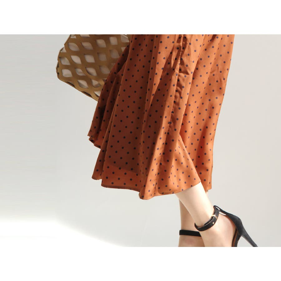 スカンツ スカーチョ ロングスカート キュロット パンツ ガウチョ ワイドパンツ スカート ロング丈 おしゃれ 花柄 トレンド 3