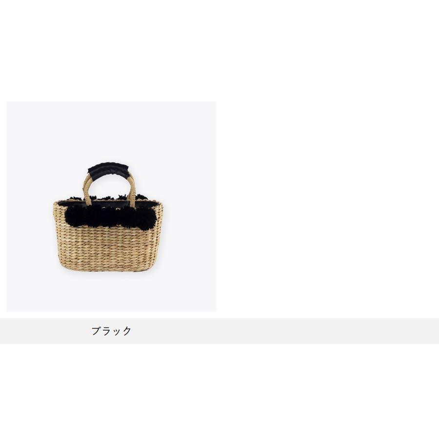 トートかごバッグ 浴衣 トウモロコシ素材 天然素材 2