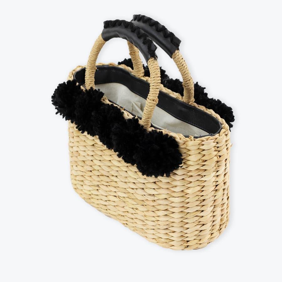 トートかごバッグ 浴衣 トウモロコシ素材 天然素材 3