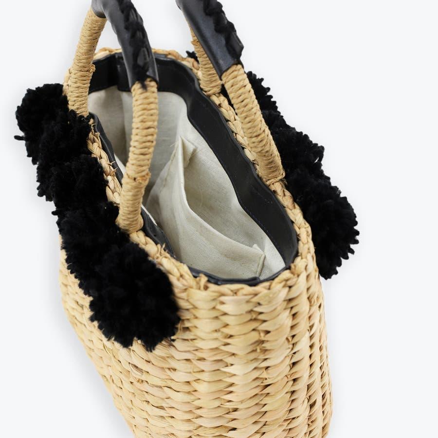 トートかごバッグ 浴衣 トウモロコシ素材 天然素材 5