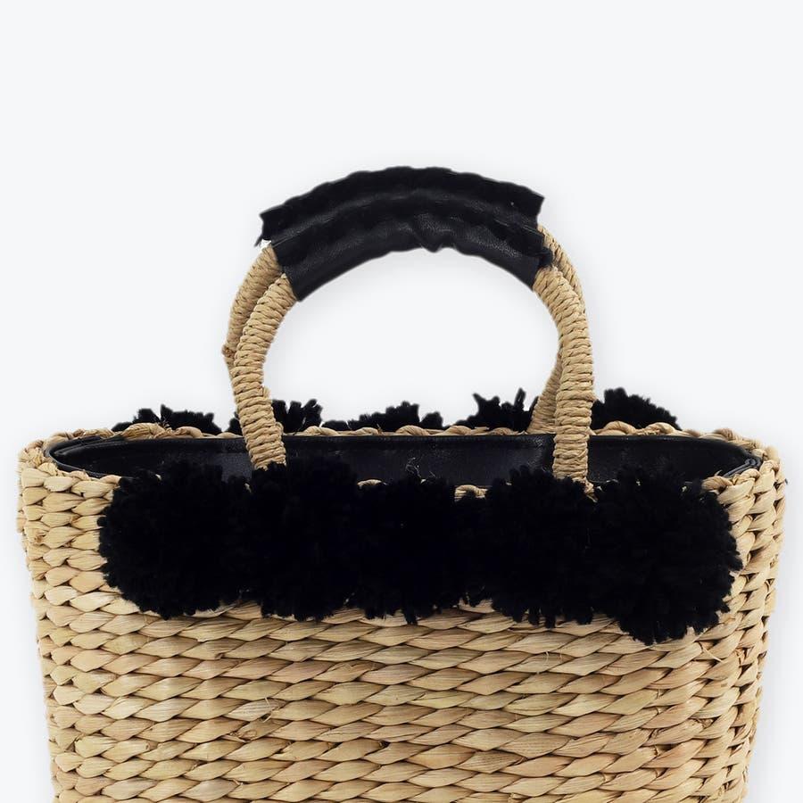 トートかごバッグ 浴衣 トウモロコシ素材 天然素材 6