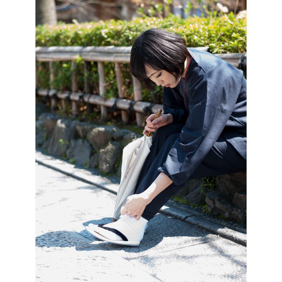 雪駄 男性 メンズ 日本製 M L 黒鼻緒 ハイミロン せった 普段履き 和 浴衣 作務衣 甚平 お祭り おしゃれ ギフト 5