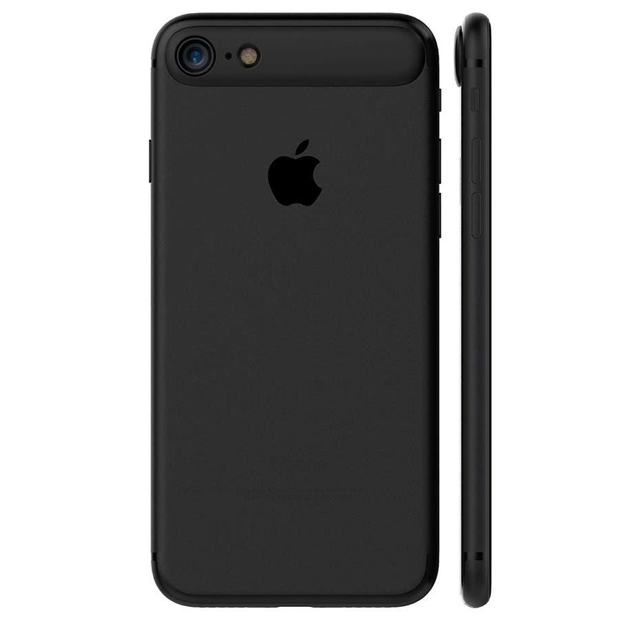 iPhone 8 / 7 ケース 耐衝撃 カメラレンズプロテクター MYNUS 9