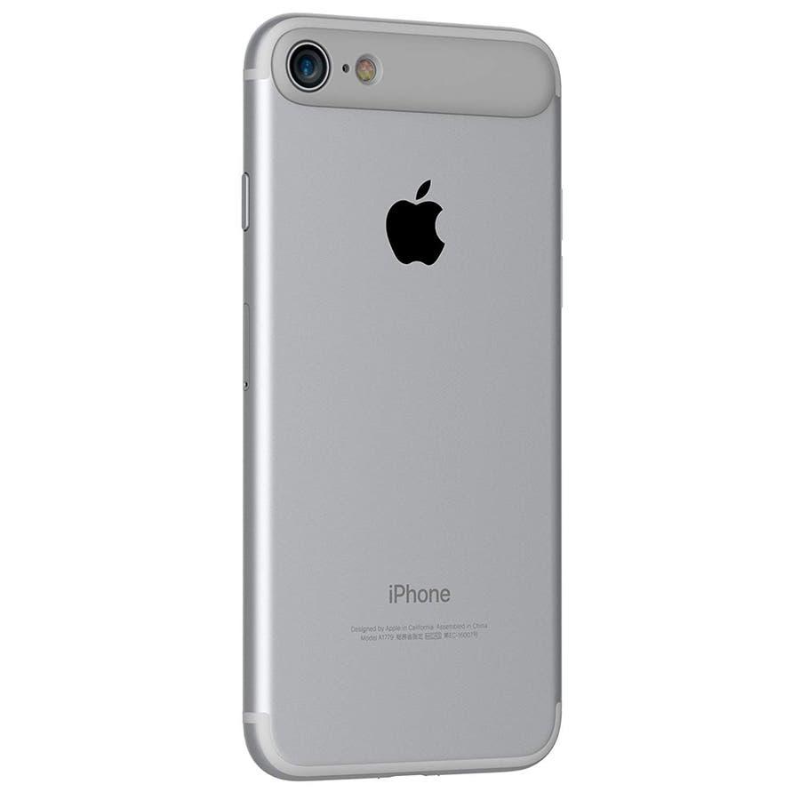 iPhone 8 / 7 ケース 耐衝撃 カメラレンズプロテクター MYNUS 10