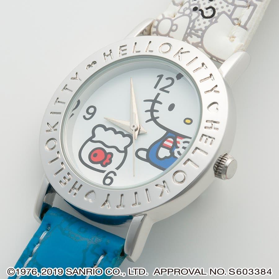 ハローキティ HELLO KITTY 腕時計 アナログウオッチ レディース キッズ 【HK-AL1662】 3