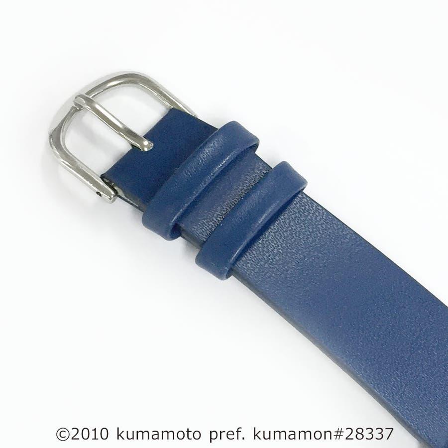 くまモン柄ウオッチ 腕時計 アナログウオッチ キャラクター【KM-AL080】 3