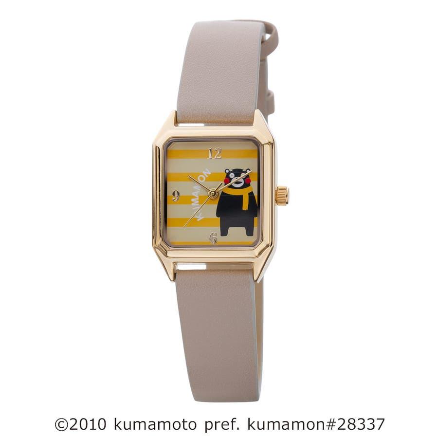くまモン柄ウオッチ 腕時計 アナログウオッチ キャラクター【KM-AL081】 41