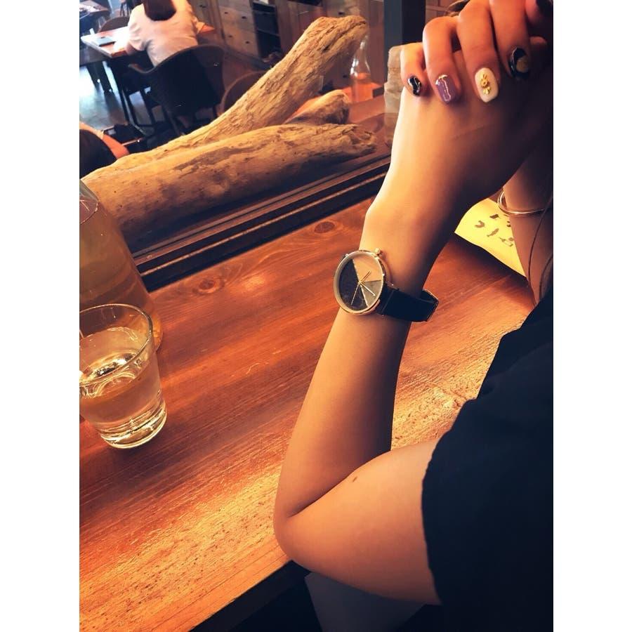 【在庫わずか】レディースファッションウォッチ 腕時計 アナログ ootd かわいい お洒落 大人【NB-AL142】 4