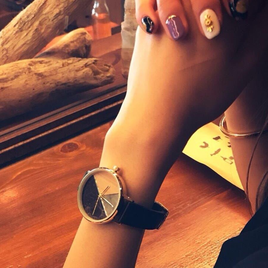 【在庫わずか】レディースファッションウォッチ 腕時計 アナログ ootd かわいい お洒落 大人【NB-AL142】 22