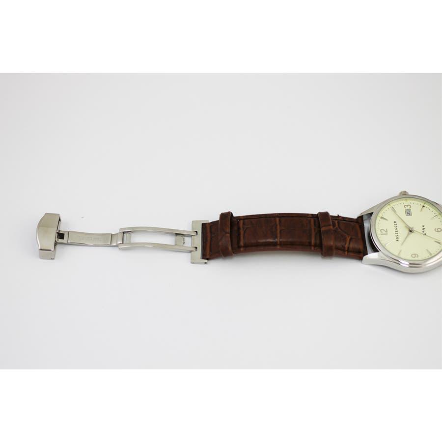メンズ アナログウオッチ 日付表示 腕時計【ROS-2007】 2