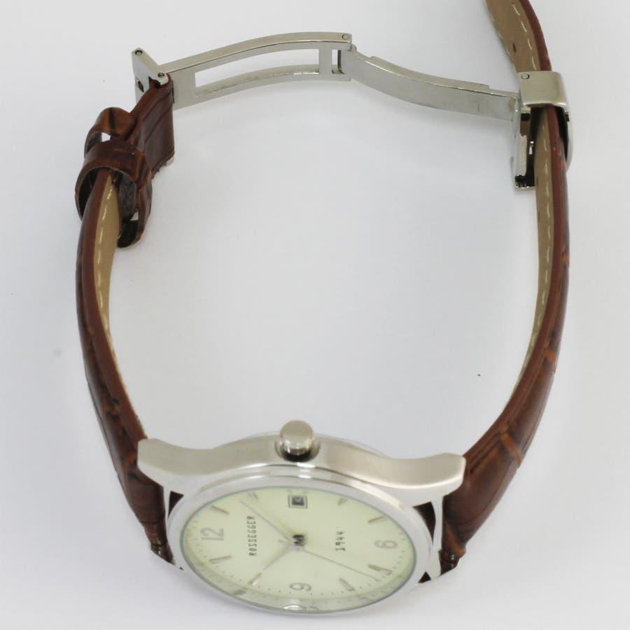 メンズ アナログウオッチ 日付表示 腕時計【ROS-2007】 3