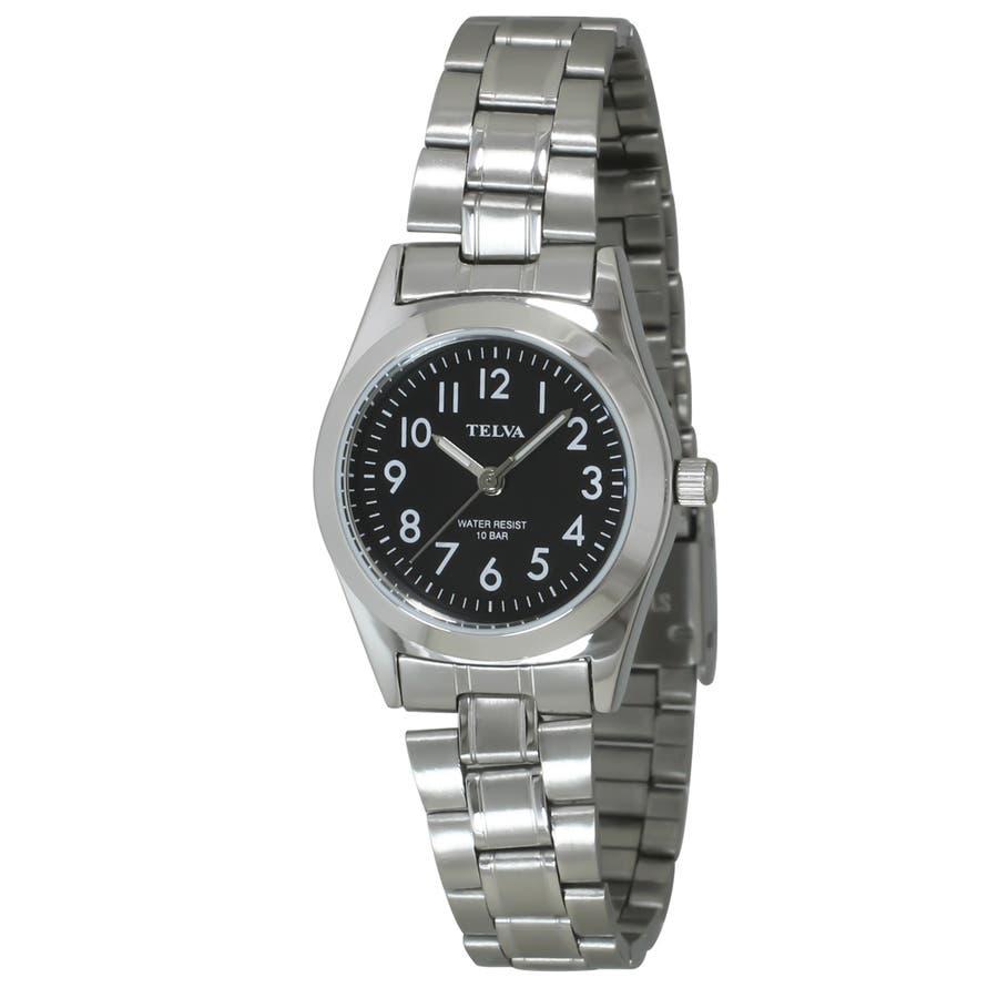 TELVA テルバ アナログウオッチ レディース 10気圧防水 腕時計【TE-AL010】 2