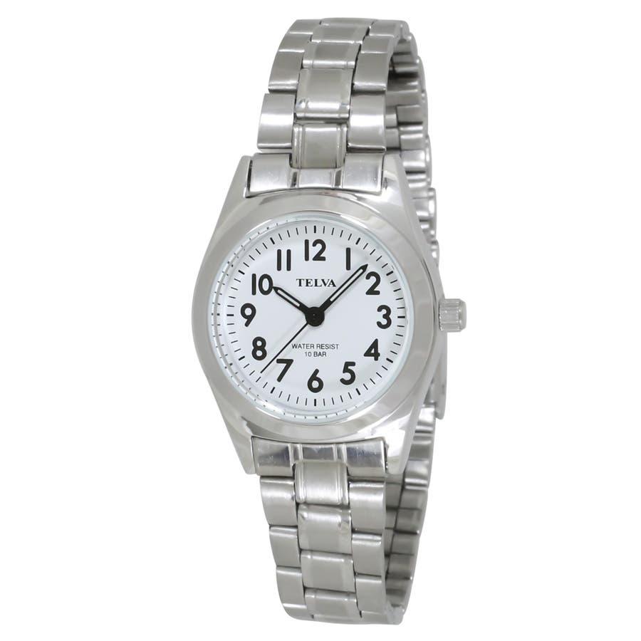 TELVA テルバ アナログウオッチ レディース 10気圧防水 腕時計【TE-AL010】 3