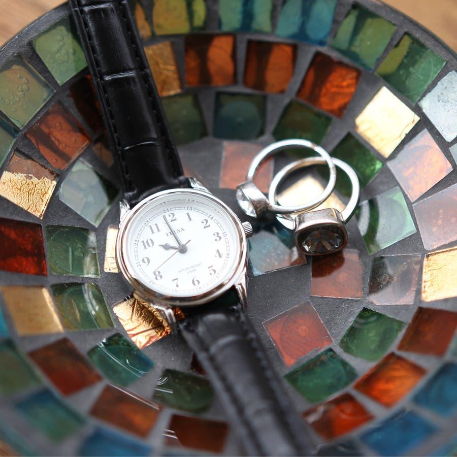 TELVA テルバ アナログ時計 レディース シンプル【TE-AL022】 4