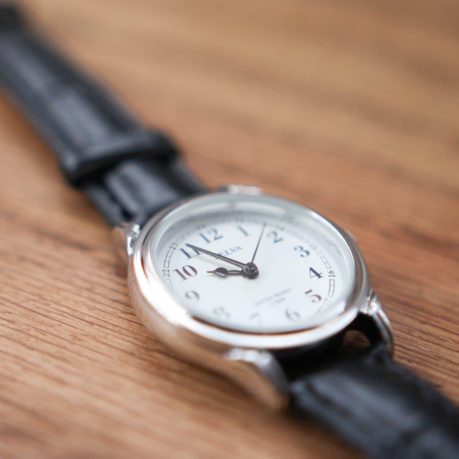 TELVA テルバ アナログ時計 レディース シンプル【TE-AL022】 5