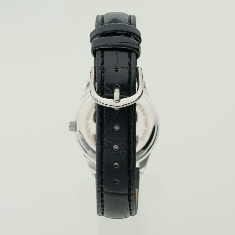 TELVA テルバ アナログウオッチ レディース 曜日 日付 腕時計【TE-AL176】 2