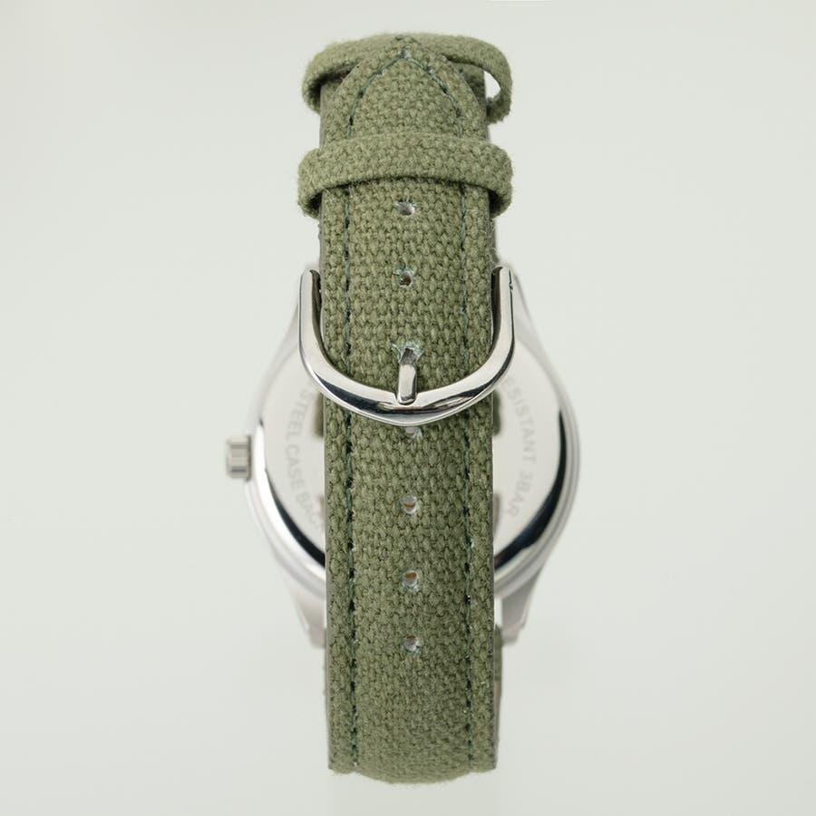 TELVA テルバ アナログウオッチ メンズ 曜日 日付 腕時計【TE-AM180】 2