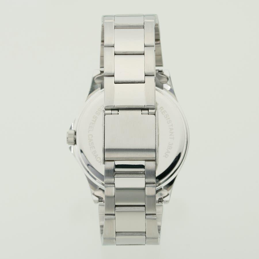 TELVA テルバ アナログウオッチ メンズ 曜日 日付 腕時計【TE-AM181】 2