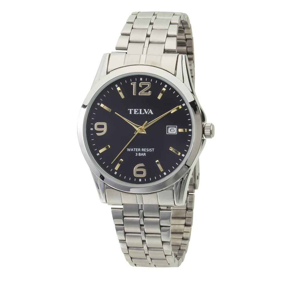 TELVA テルバ アナログウオッチ メンズ 腕時計 薄型針【TE-AM188】 1