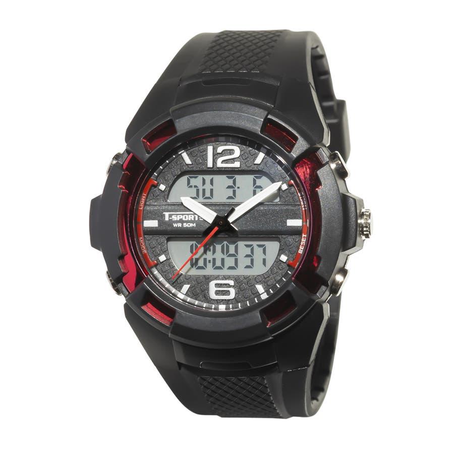 T-SPORTS ティースポーツ アナデジウオッチ 腕時計【TS-AD251】 94